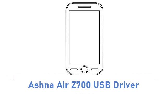 Ashna Air Z700 USB Driver