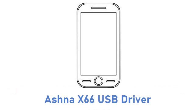 Ashna X66 USB Driver