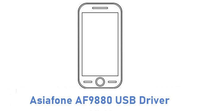 Asiafone AF9880 USB Driver