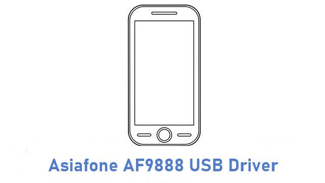 Asiafone AF9888 USB Driver