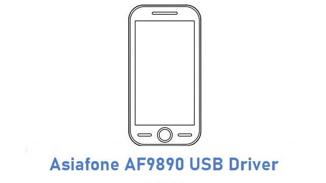 Asiafone AF9890 USB Driver