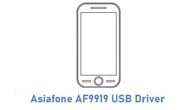 Asiafone AF9919 USB Driver