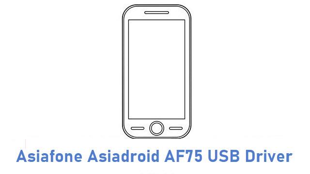 Asiafone Asiadroid AF75 USB Driver