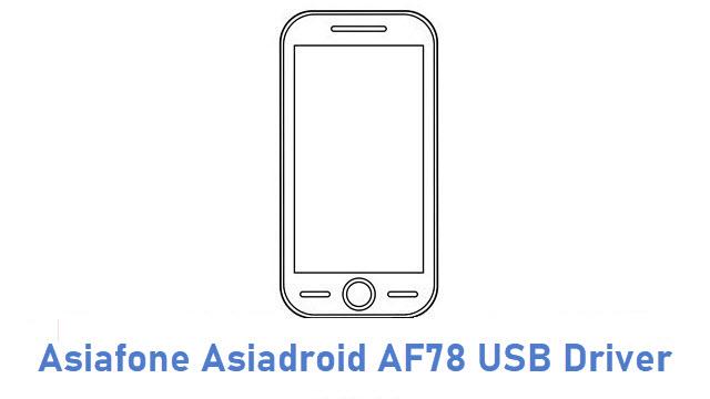 Asiafone Asiadroid AF78 USB Driver