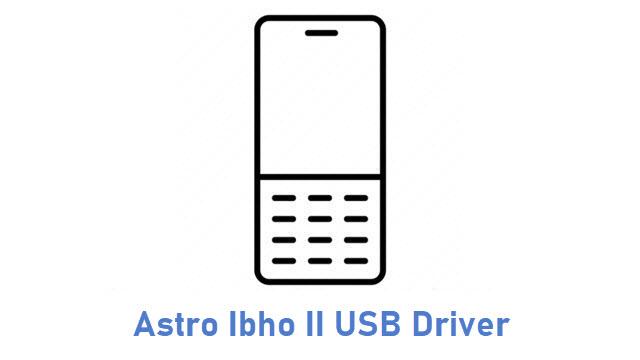 Astro Ibho II USB Driver