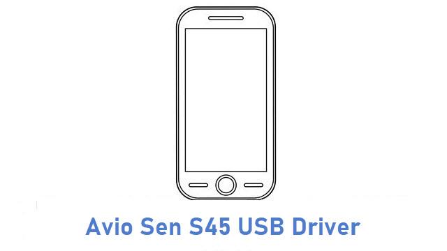 Avio Sen S45 USB Driver