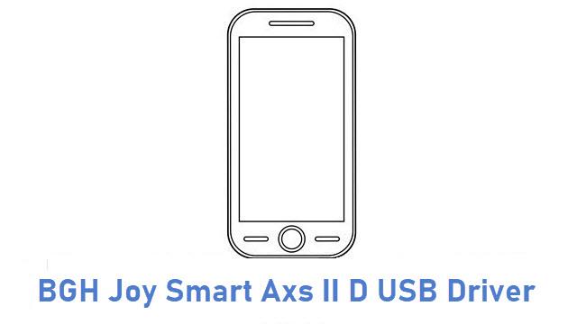 BGH Joy Smart Axs II D USB Driver