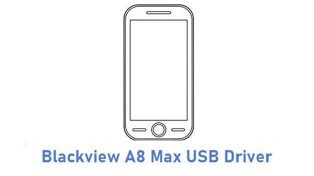 Blackview A8 Max USB Driver