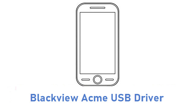 Blackview Acme USB Driver