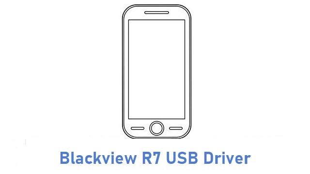 Blackview R7 USB Driver