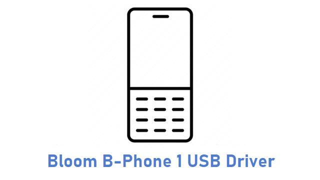 Bloom B-Phone 1 USB Driver