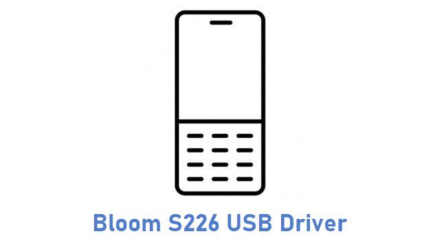 Bloom S226 USB Driver