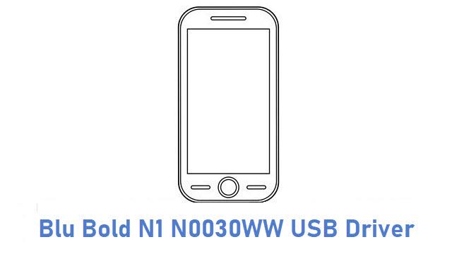 Blu Bold N1 N0030WW USB Driver