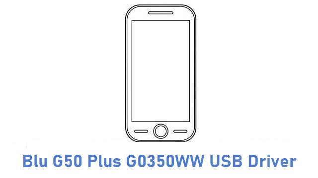 Blu G50 Plus G0350WW USB Driver