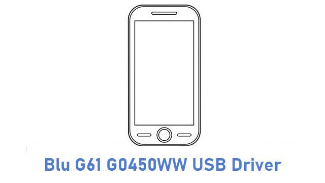 Blu G61 G0450WW USB Driver