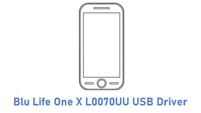 Blu Life One X L0070UU USB Driver