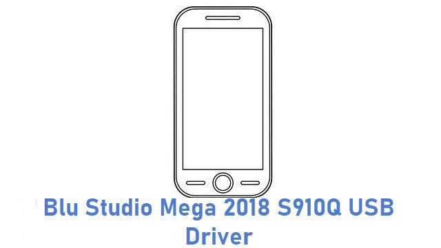 Blu Studio Mega 2018 S910Q USB Driver