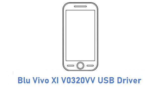 Blu Vivo XI V0320VV USB Driver