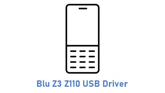 Blu Z3 Z110 USB Driver