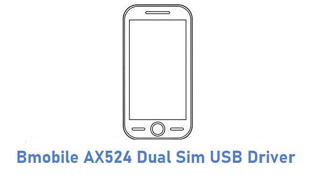 Bmobile AX524 Dual Sim USB Driver