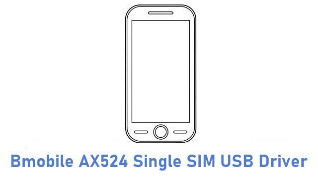 Bmobile AX524 Single SIM USB Driver
