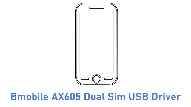 Bmobile AX605 Dual Sim USB Driver