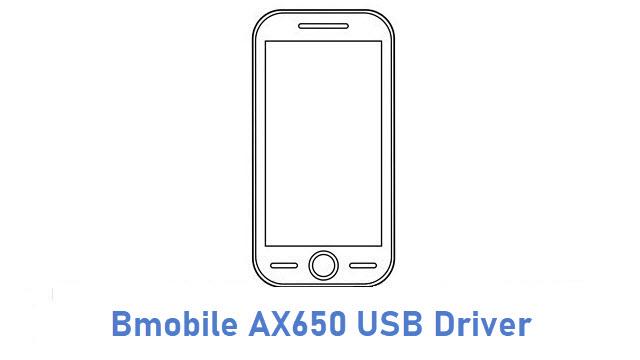 Bmobile AX650 USB Driver