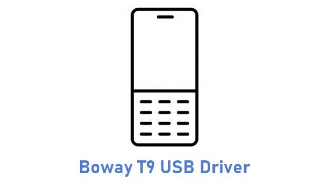 Boway T9 USB Driver