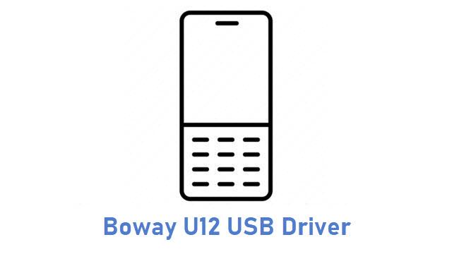 Boway U12 USB Driver