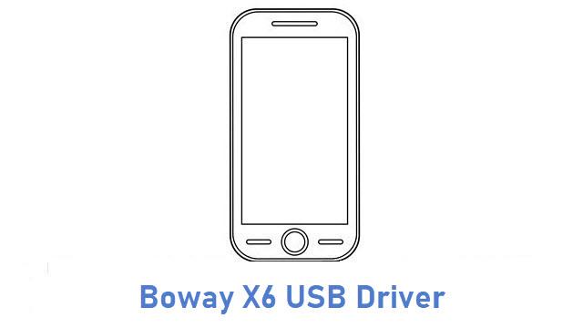 Boway X6 USB Driver