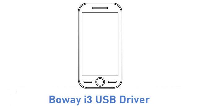 Boway i3 USB Driver