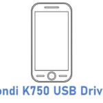 Fondi K750 USB Driver