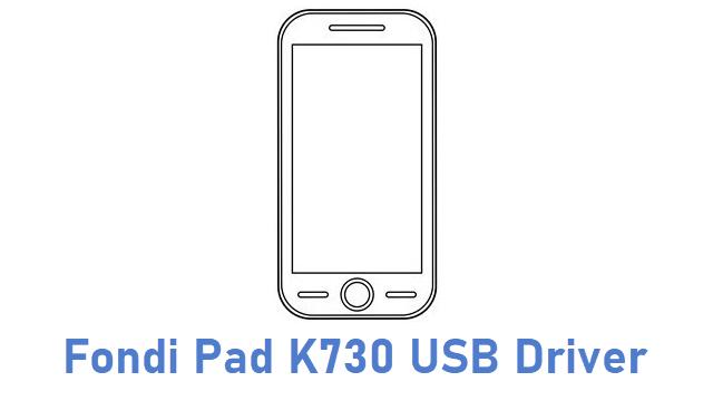 Fondi Pad K730 USB Driver