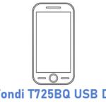 Fondi T725BQ USB Driver