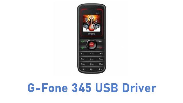 G-Fone 345 USB Driver