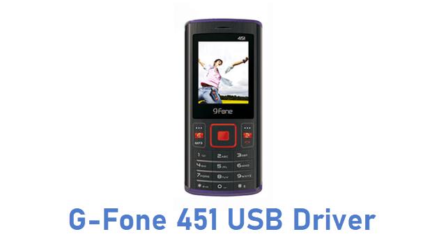G-Fone 451 USB Driver