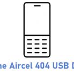 G-Fone Aircel 404 USB Driver