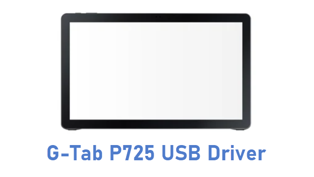 G-Tab P725 USB Driver