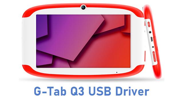 G-Tab Q3 USB Driver