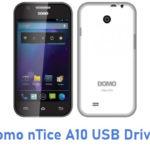 Domo nTice A10 USB Driver