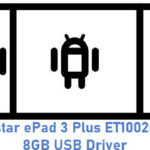 Eurostar ePad 3 Plus ET1002C-D12 8GB USB Driver