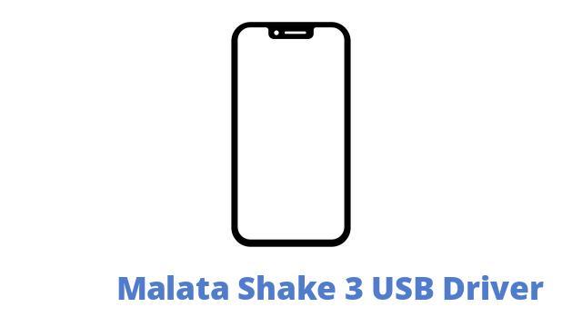 Malata Shake 3 USB Driver