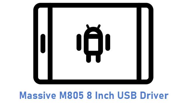 Massive M805 8 Inch USB Driver