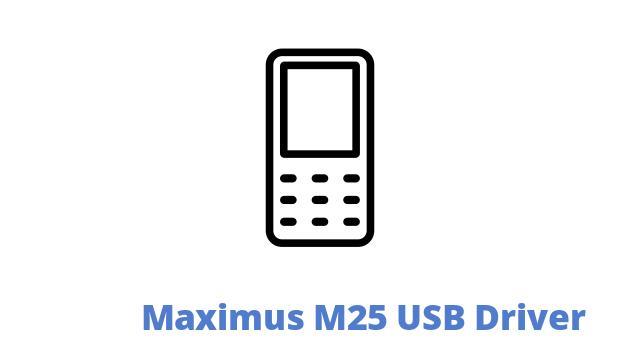 Maximus M25 USB Driver