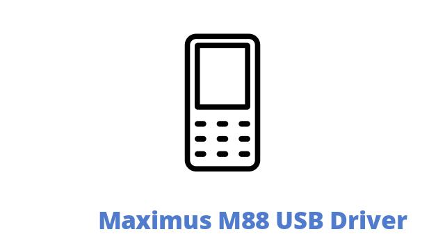 Maximus M88 USB Driver