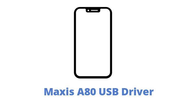 Maxis A80 USB Driver