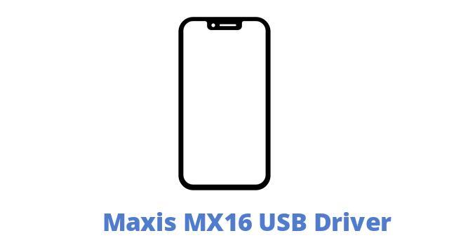 Maxis MX16 USB Driver