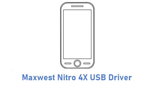 Maxwest Nitro 4X USB Driver