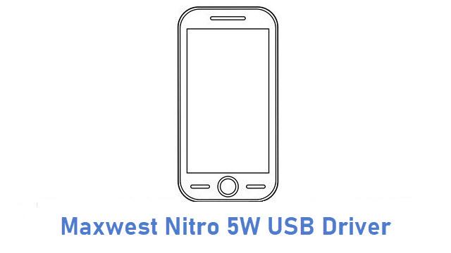 Maxwest Nitro 5W USB Driver