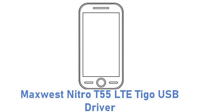 Maxwest Nitro T55 LTE Tigo USB Driver